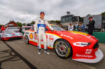 Ryan Briscoe and the DJR Team Penske Mustang