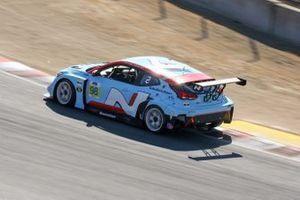 #98 Bryan Herta Autosport W Curb-Agajanian Hyundai Veloster N TCR, TCR: Mark Wilkins, Michael Lewis