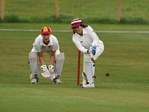 Partido de Cricket Amanda Stretton William Gordon Lennox