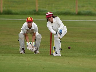 Partido de Cricket Amanda Stretton William Gordon Lennox