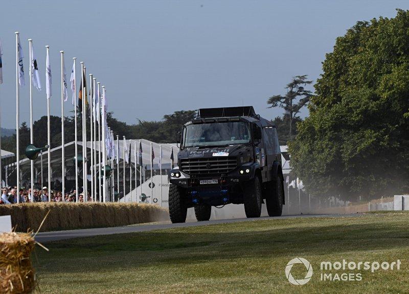 Dakar Red Bull Truck