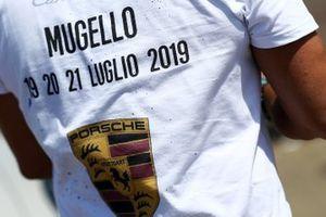 La maglia dedicata al Mugello di Federico Reggiani, Ghinzani Arco Motorsport