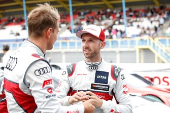 René Rast, Audi Sport Team Rosberg and Nico Müller, Audi Sport Team Abt Sportsline