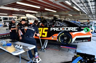 Matt DiBenedetto, Leavine Family Racing, Toyota Camry Procore crew