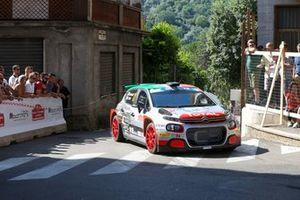 Luca Rossetti, Eleonora Mori, Citroen C3 R5, Rally di Roma Capitale, FIA ERC