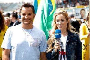 Timo Scheider y Andrea Kaiser, Sat 1 TV