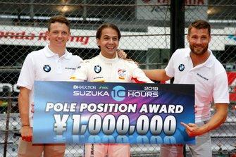 Polesitter #42 BMW Team Schnitzer BMW M6 GT3: Augusto Farfus, Nick Yelloly, Martin Tomczyk
