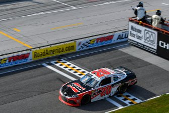 Race Winner Christopher Bell, Joe Gibbs Racing, Toyota Supra Ruud