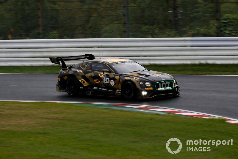 #107 Bentley Team M-Sport Bentley Continental GT3: Steven Kane, Jules Gounon, Jordan Pepper