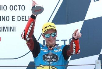 Podio: tercer lugar Alex Marquez, Marc VDS Racing