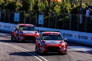 Augusto Farfus, BRC Hyundai N LUKOIL Racing Team Hyundai i30 N TCR, Nicky Catsburg, BRC Hyundai N LUKOIL Racing Team Hyundai i30 N TCR