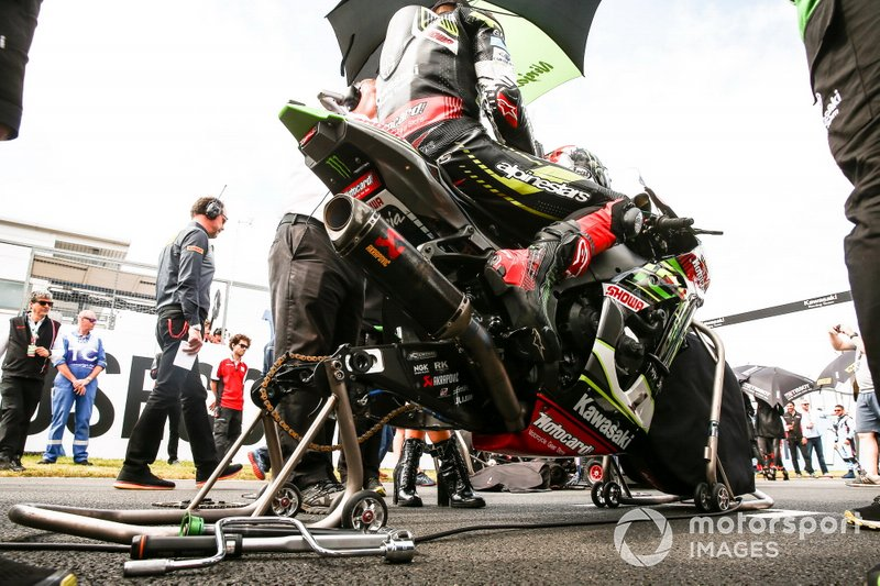 Jonathan Rea, Kawasaki Racing Team bike