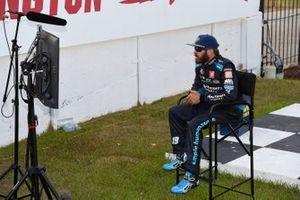 Ganador Martin Truex Jr., Joe Gibbs Racing, Toyota Camry Auto-Owners Insurance, celebra