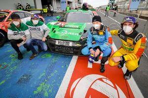 #11 Phoenix Racing Audi R8 LMS GT3: Michele Beretta, Frank Stippler, Nicki Thiim