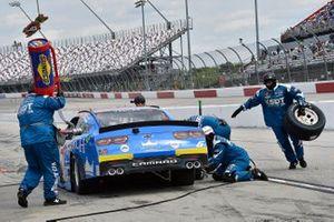 Ryan Vargas, JD Motorsports, Chevrolet Camaro Monarch Roofing Throwback