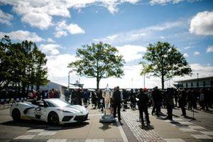Pace-Car für das 105. Indy 500 am 30. Mai 2021: Chevrolet Corvette Stingray
