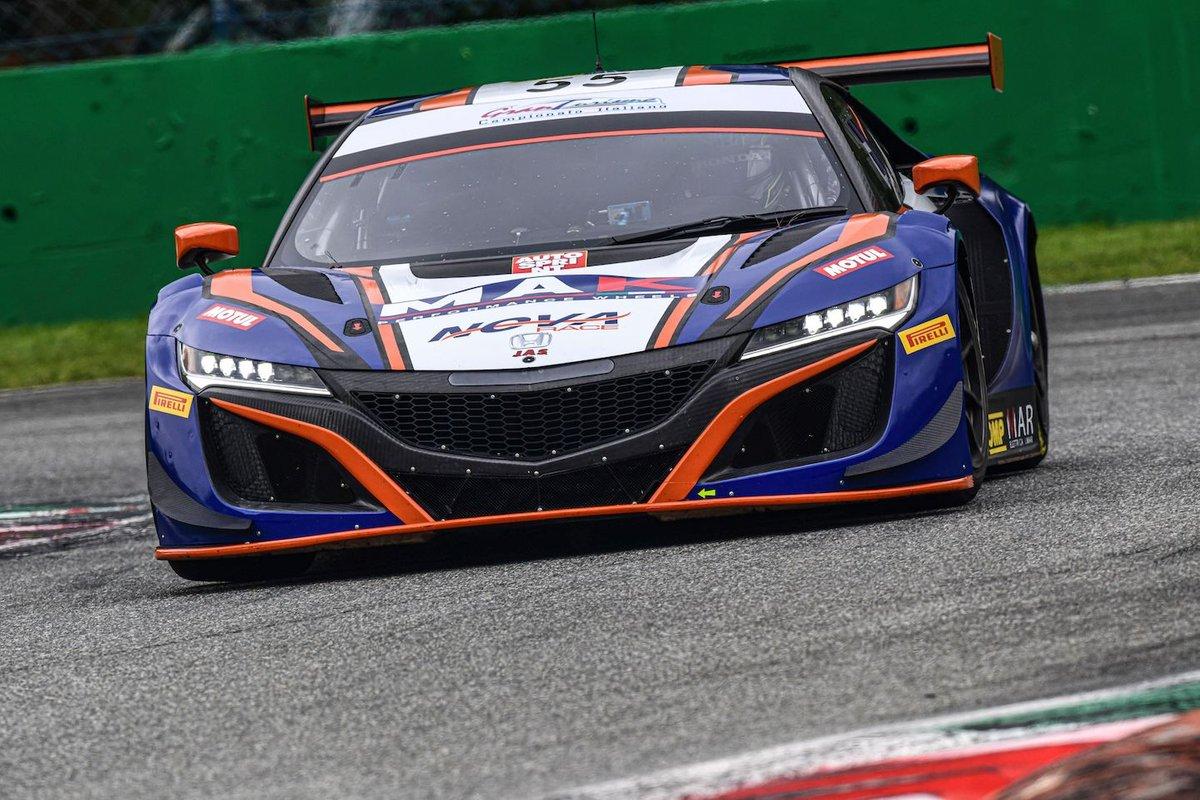 #55 Nova Race, Honda NSX GT3 Evo: Jacopo Guidetti, Francesco Massimo De Luca