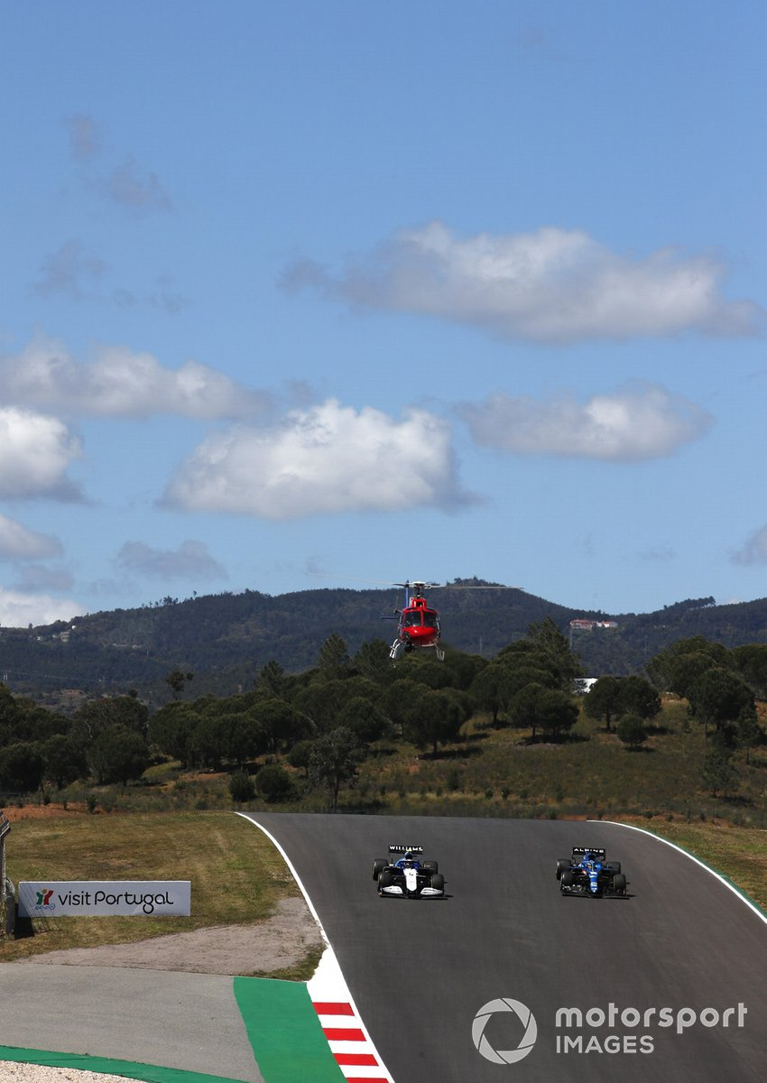Nicholas Latifi, Williams FW43B, Fernando Alonso, Alpine A521