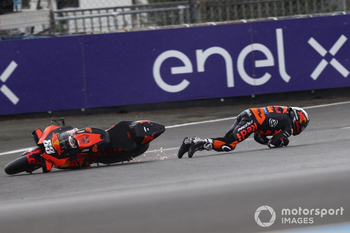 Caída de Miguel Oliveira, Red Bull KTM Factory Racing