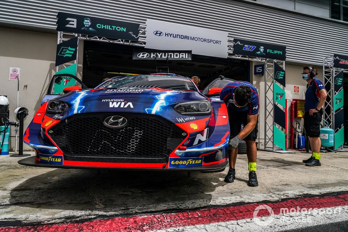 Hyundai Motorsport N, Hyundai Veloster N ETCR