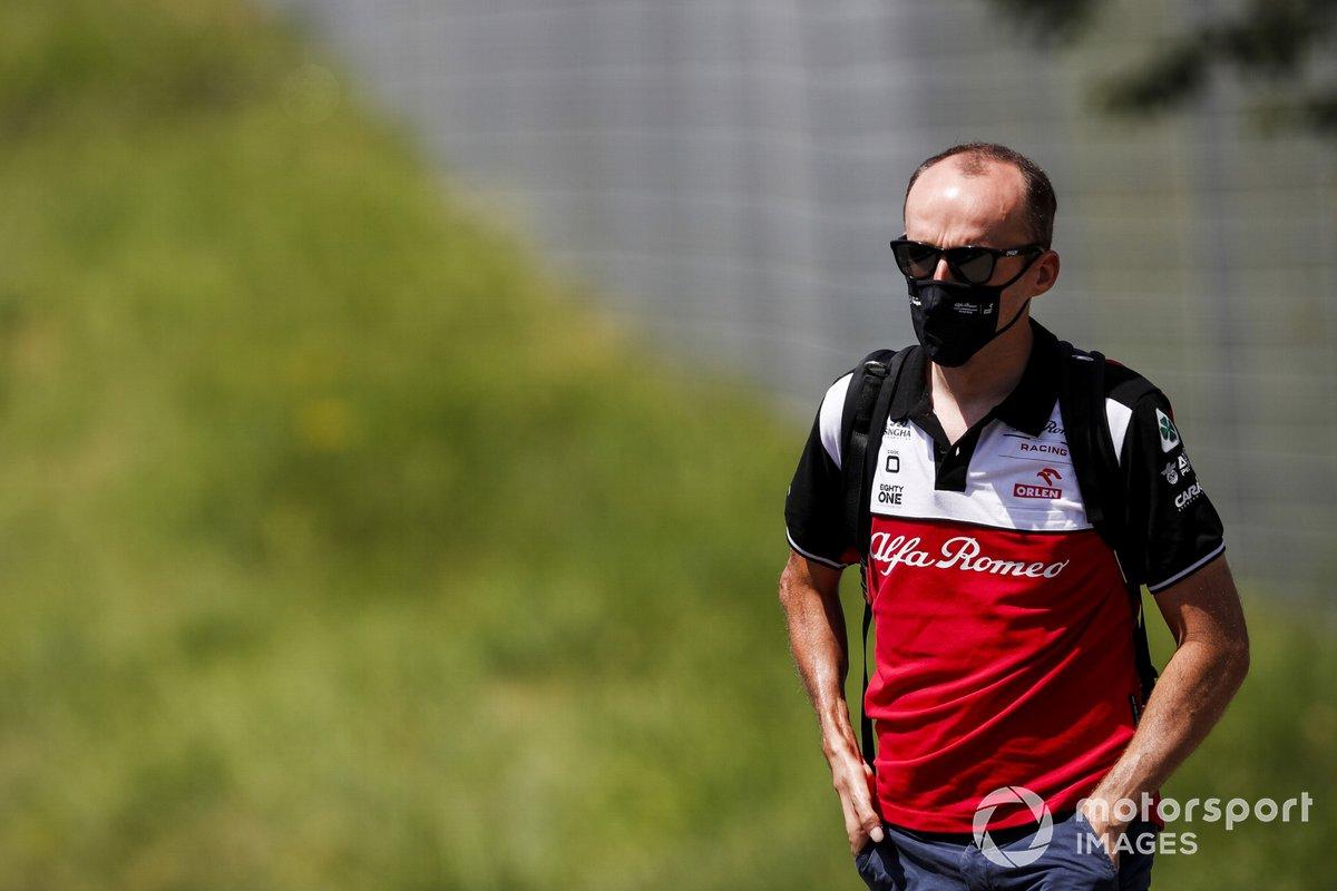 Robert Kubica, piloto reserva y de test de Alfa Romeo Racing