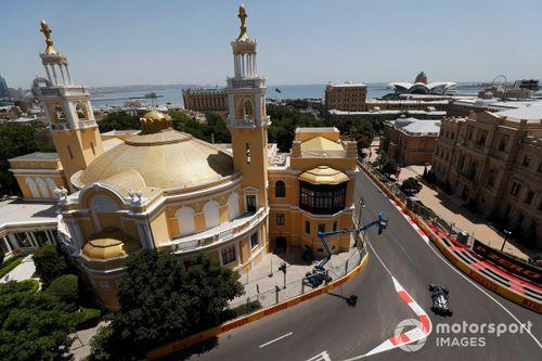 Liveblog - De tweede vrije training voor de Grand Prix van Azerbeidzja