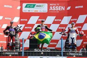 Podio: Jordi Torres, Pons Racing 40, Eric Granado, One Energy Racing, Alessandro Zaccone, OCTO Pramac MotoE,