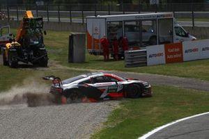 Dev Gore, Team Rosberg Audi R8 LMS GT3 in the gravel