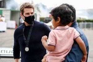 Tom Cruise y Karun Chandhok