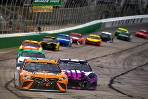 Denny Hamlin, Joe Gibbs Racing, Toyota Camry Offerpad Awesome Different