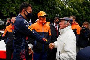 Alex Albon, Daniel Ricciardo, McLaren y Sir Jackie Stewart