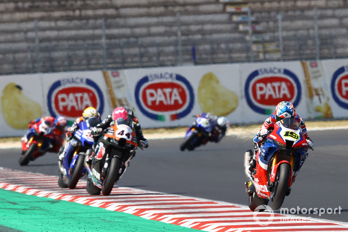Alvaro Bautista, Team HRC, Lucas Mahias, Kawasaki Puccetti Racing