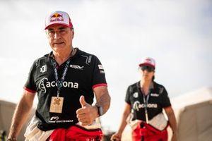 Carlos Sainz, Acciona | Sainz XE Team, and Laia Sanz, Acciona | Sainz XE Team