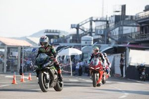 Jonathan Rea, Kawasaki Racing Team WorldSBK on MWC square Inauguration