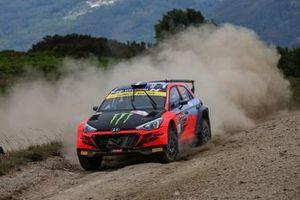 Oliver Solberg, Aaron Johnston, Hyundai Motorsport N Hyundai i20 R5