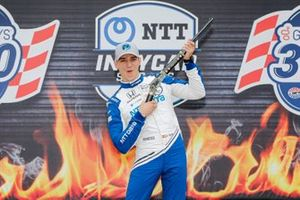 Polesitter Alex Palou, Chip Ganassi Racing Honda