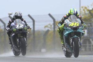 Valentino Rossi, Petronas Yamaha SRT, Maverick Vinales, Yamaha Factory Racing