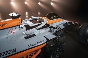 McLaren MCL35M met Gulf livery