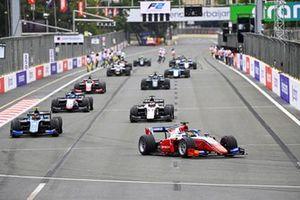 Juri Vips, Hitech Grand Prix and Felipe Drugovich, Uni-Virtuosi