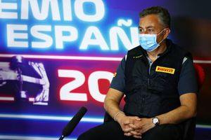 Mario Isola, Racing Manager, Pirelli Motorsport, in the team principals Press Conference