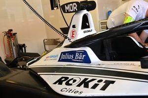 Edoardo Mortara, Venturi Racing, Silver Arrow 02, dans le garage