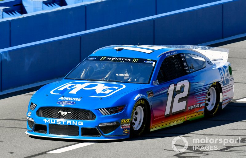 10. Ryan Blaney, Team Penske, Ford Mustang PPG