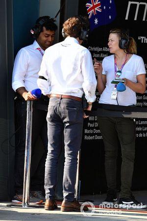 Karun Chandhok, Sky TV, Pierre Guyonnet-Duperat, Formula One Deputy Media Delegate at the FIA