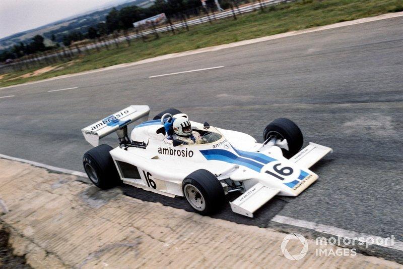Tom Pryce, Shadow DN8 Ford