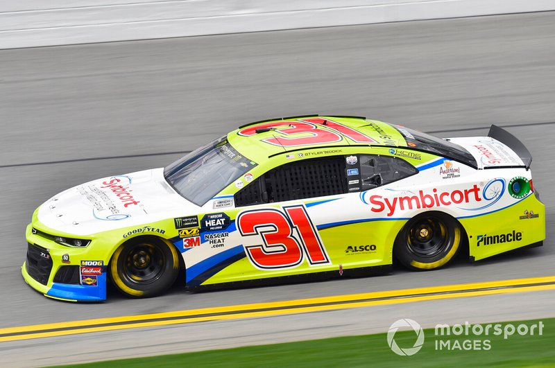 39. Tyler Reddick, Richard Childress Racing, Chevrolet Camaro Symbicort