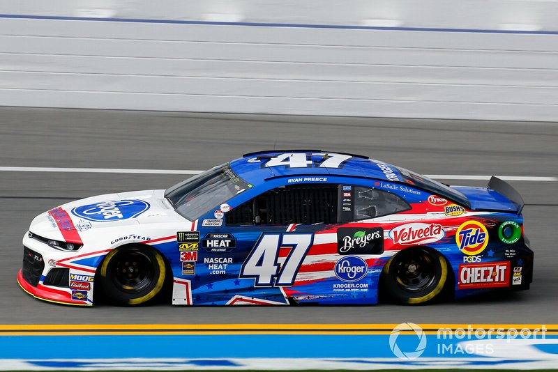 Ryan Preece, JTG Daugherty Racing, Chevrolet Camaro Kroger.com