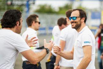 Gary Paffett, HWA Racelab with Dario Franchitti