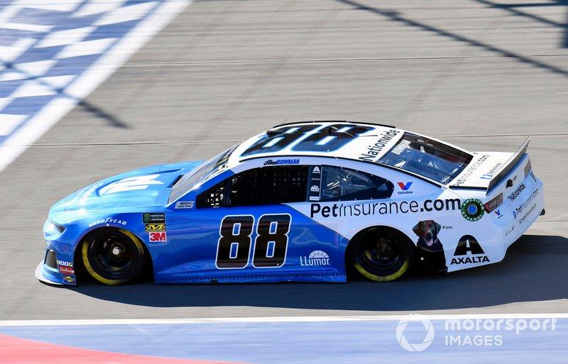 23. Alex Bowman, Hendrick Motorsports, Chevrolet Camaro Nationwide Pet Insurance