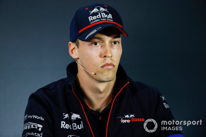 Daniil Kvyat, Toro Rosso in Press Conference