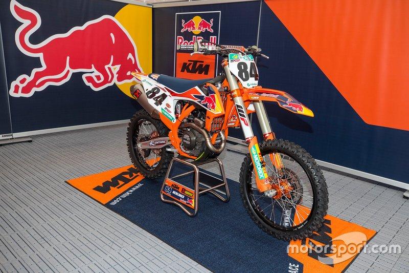 La moto de Jeffrey Herlings, Red Bull KTM Factory Racing